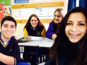 Nacha,Rodolfo und Samantha