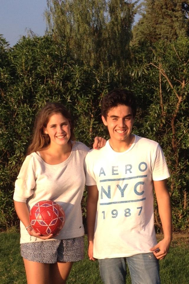 Felipe und ich