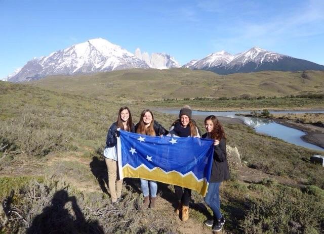 Mit Valerie und Sophia aus Deutschland und Holly aus Canada