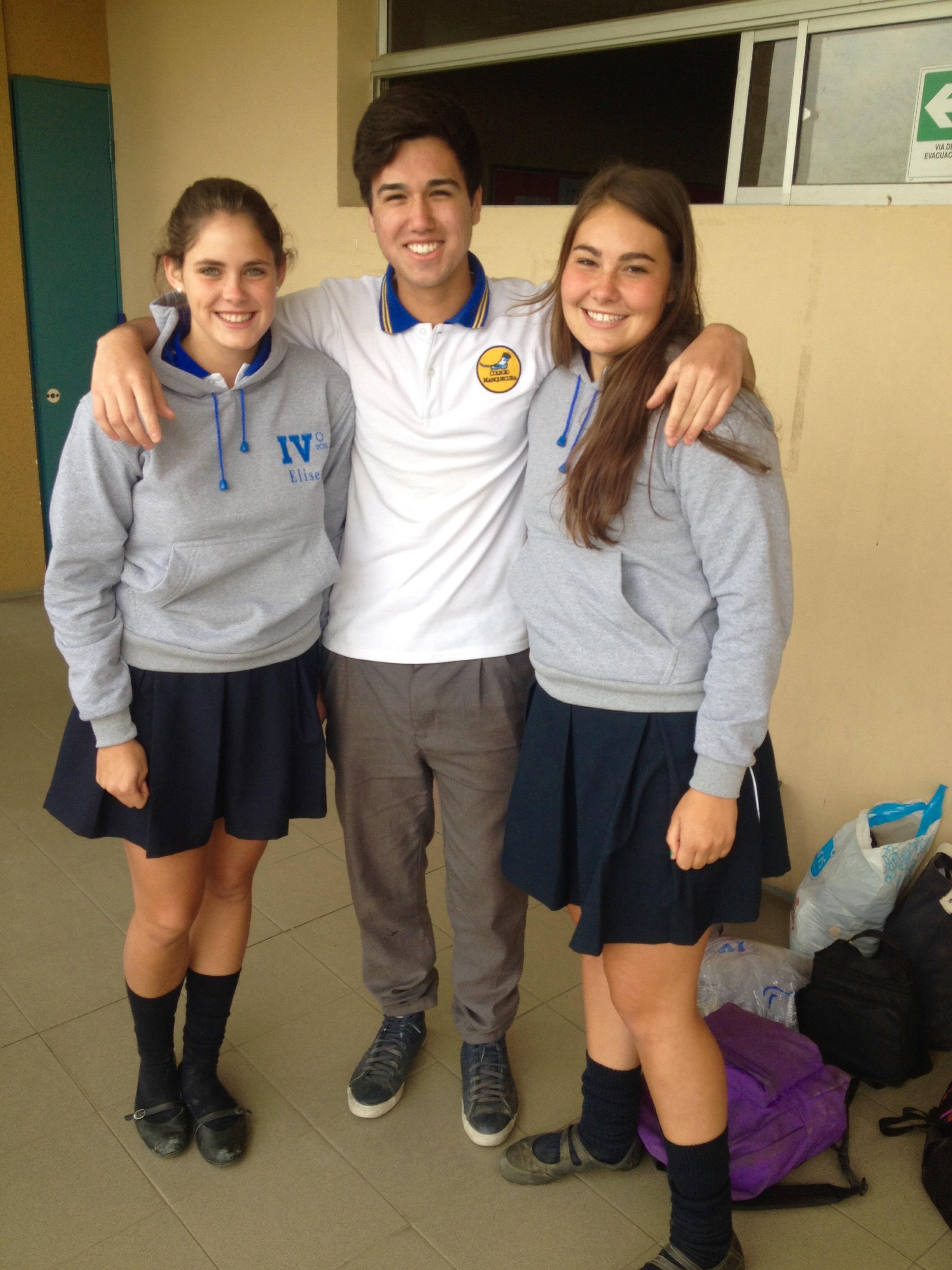 ... mit unserem Freund Javier