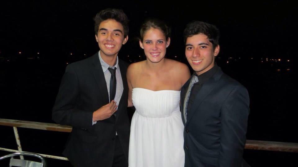 Meine 2 Chilenen :D Felipe und Rodolfo ♥ ♥