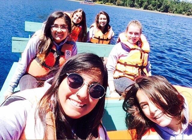 ... mit Fran, Jocelyne, Conni, Paulina und Germaine... ♥