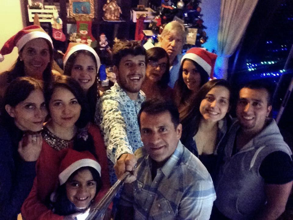 Die Weihnachtsfamilie in Chile ♥ ♥ ♥