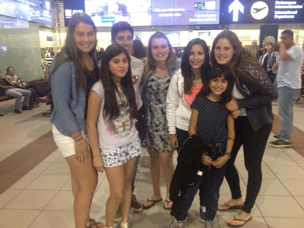 ... und dann haben wir Nacha zum Flughafen gebracht... :) ♥