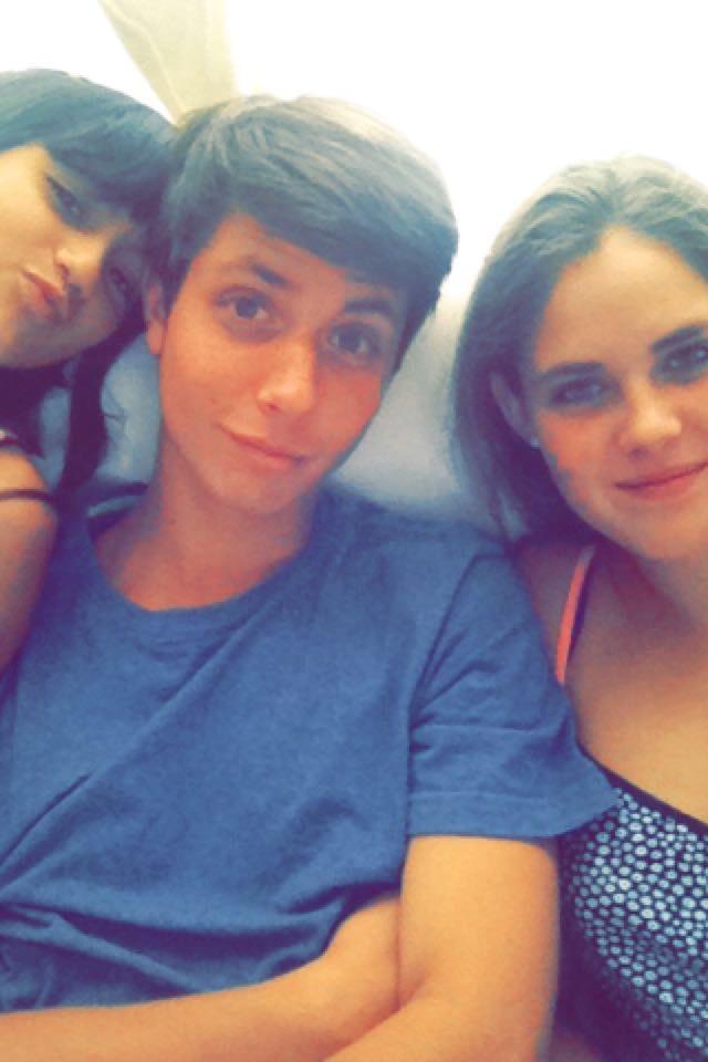Mit Sofi und meinem Cousin Gonzalito ♥ ♥