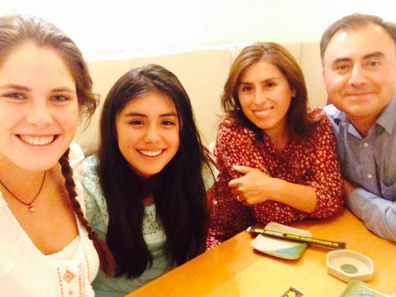 Meine Familie : Lily, Rafa und Cata