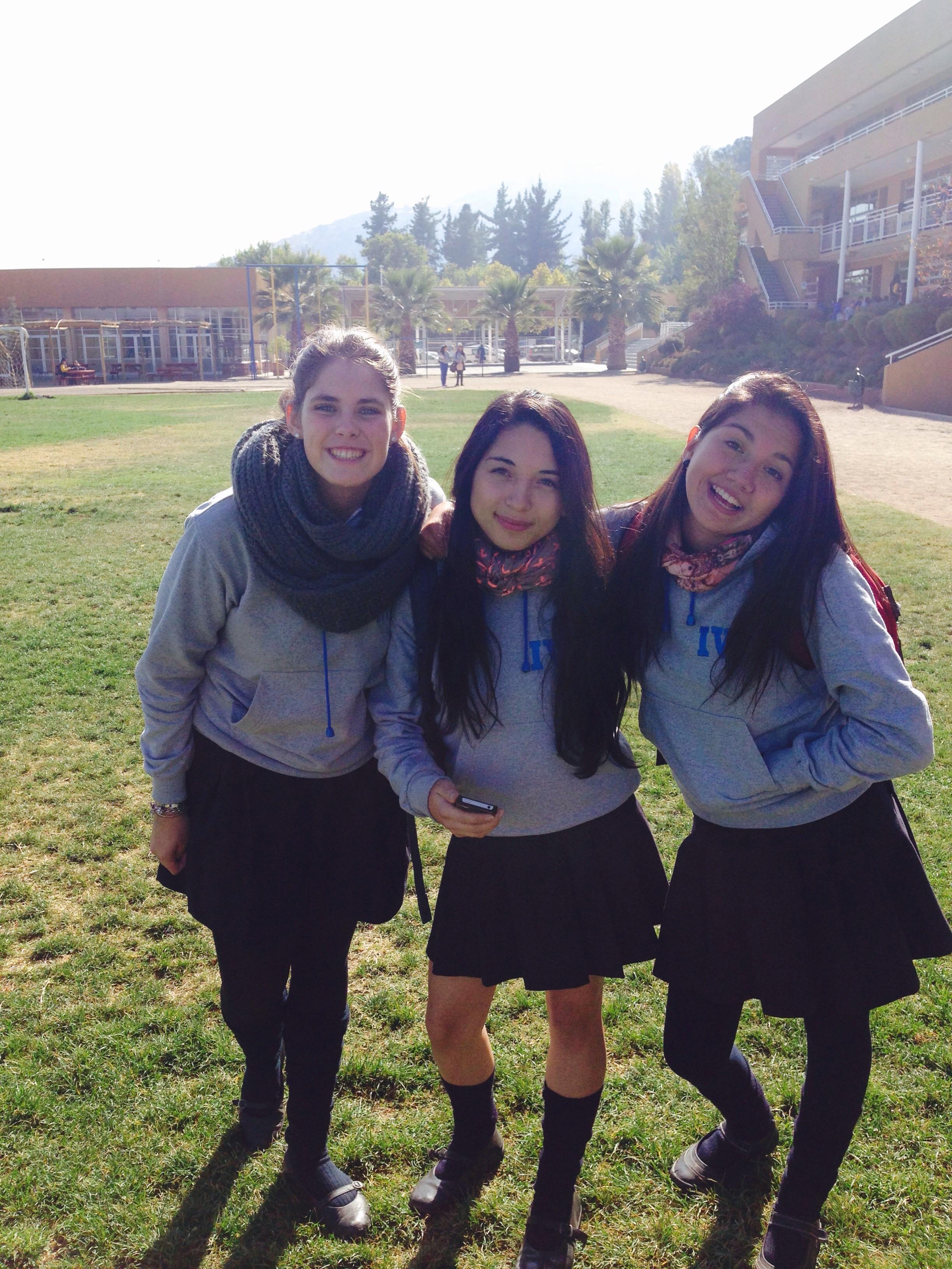 ...mit Amanda und Francisca
