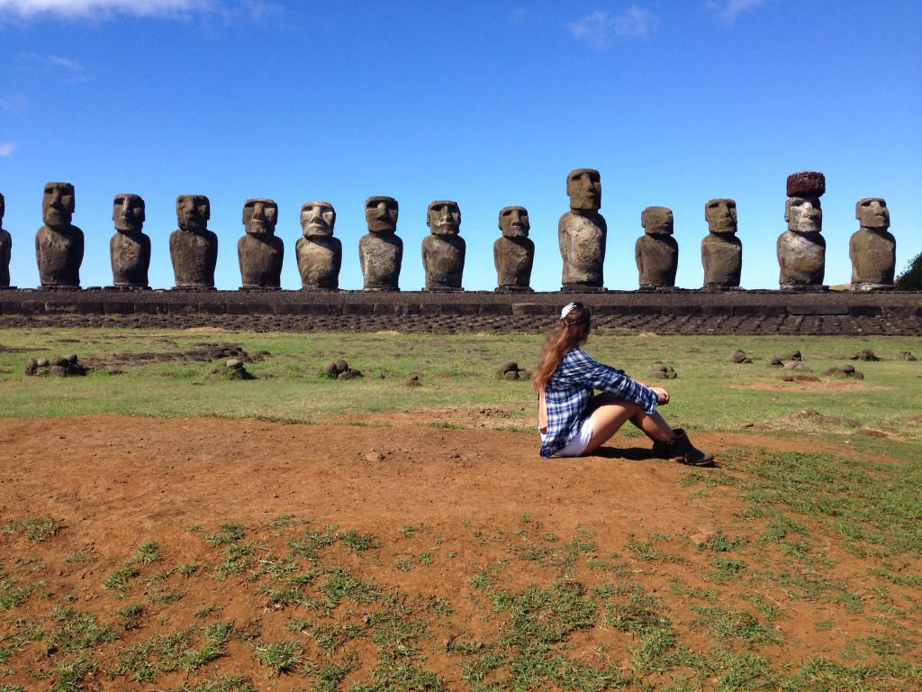 Die 15 Moai's ♥ ♥ ♥
